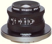 Olympus 38 mm f/3.5 Zuiko Macro lens on PM-MTob adapter