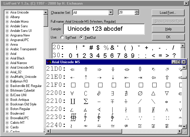 Unicode and multilingual file conversion, font and keyboard